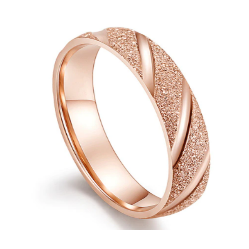 Quobba Rose Gold Ladies Ring
