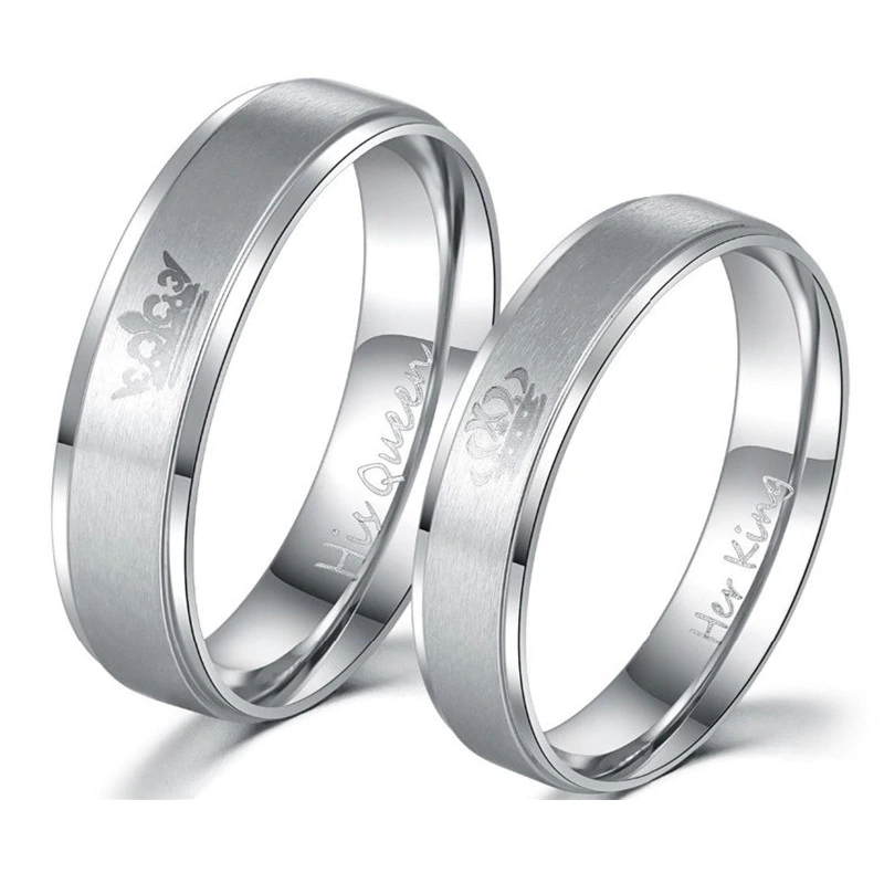 'His Queen' Silver Ladies Ring, wedding rings, ladies wedding ring, ladies rings online, wedding band, wedding ring set, afterpay rings, oxipay rings, paypal rings, laybuy rings, couples rings, matching rings, free express shipping, free shipping, Australian stock