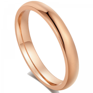 Classic Rose Gold Tone Wedding Band Ring, wedding band, wedding ring, grooms ring, mens rings online, wedding rings online, tungsten ring, rose gold ring, afterpay, oxipay, paypal