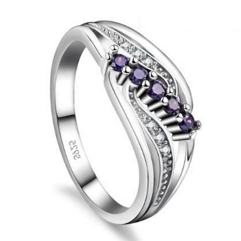 Gemma Purple S925 Ladies Ring, ladies ring, wedding rings, women ring afterpay
