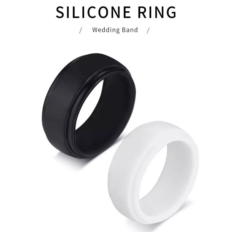 Tough White Silicone Ring, Rings, Engagement rings, wedding rings, promise rings, ring, diamond rings, jewelry, mens wedding bands, rings for women, wedding bands, gold ring, mens ring, engament rings for women, diamond engagement rings, cushion cut engagement rings, jewelry stores, wedding rings for women, wedding ring sets, wedding bands for women, silver rings, men's jewelry, eternity ring, gold engagement rings, micheal hill, michealhill, anguscoote, angus and coote, pandora, prouds, tiffany, shiels, cartier, lovisa, jewellery, pandora rings, Tough Rings, Silicone Rings, Work Safe Rings