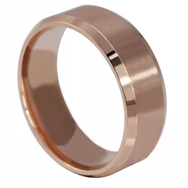 Chicago Rose Gold Men's Ring