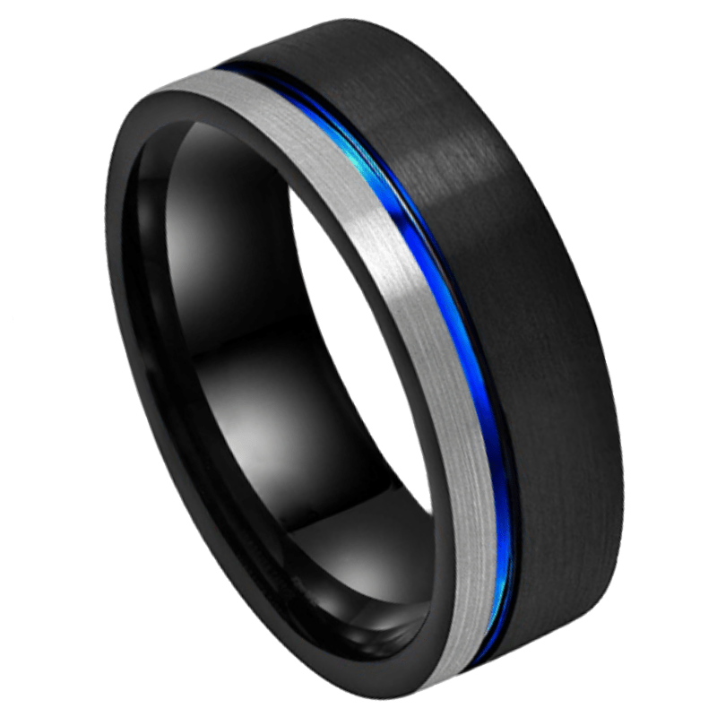River Men's Tungsten Ring, Ring,Men's Rings Online, Men's Ring Just Rings Online, Free Express Postage, Free Shipping, Australian Stock , Fast Service, Easy Exchange, Free ring sizer, Ladies Ring, Womens wedding , Ladies wedding band, Gold Tone, silver, black