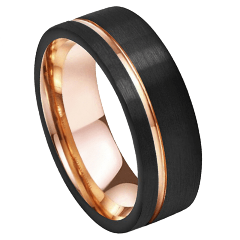 Samson Men's Tungsten Ring, Men's Rings Online, Men's Ring Just Rings Online, Free Express Postage, Free Shipping, Australian Stock , Fast Service, Easy Exchange, Free ring sizer, Ladies Ring, Womens wedding , Ladies wedding band, rose Gold Tone
