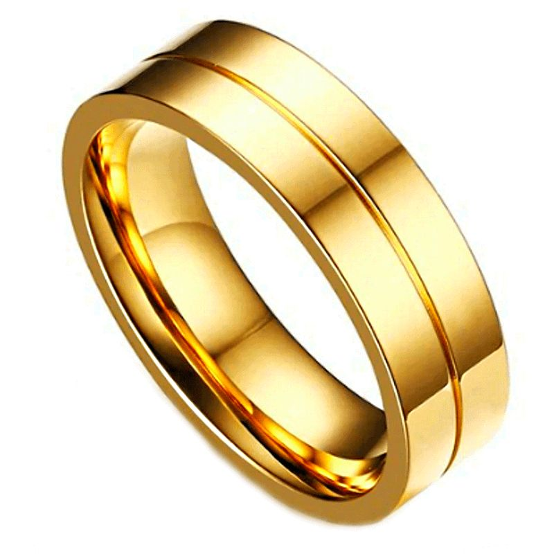 Geraldton Men's Tungsten Ring, Mens Gold Tungsten ring, Wedding ring, mens rings online, just rings, Just rings online, Mens wedding bands