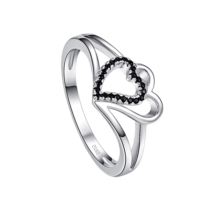 Hart Silver Tone Ladies Ring, ladies ring, wedding rings, women ring afterpay
